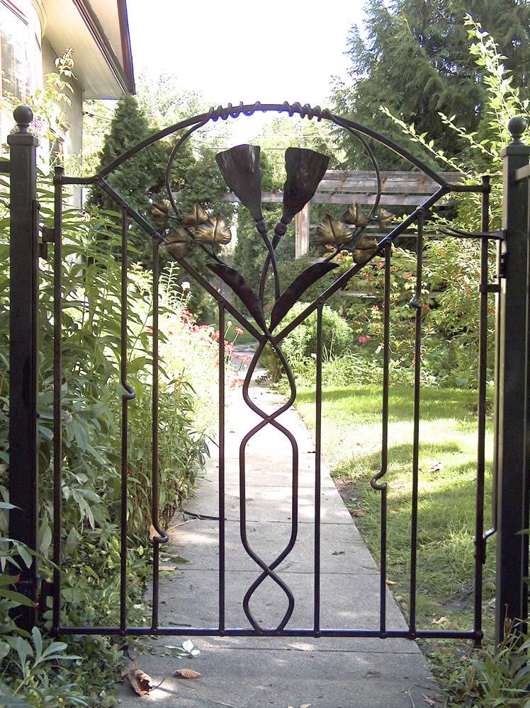 Garden Gates Bond With Iron