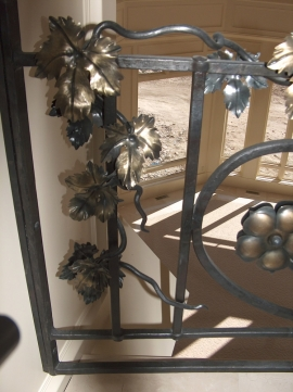 Forged Steel Railing Detail