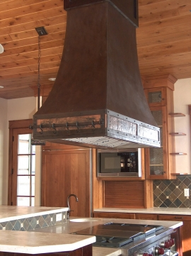 Range Hood Side View